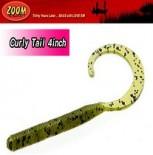 [줌(ZOOM)] C Tail / 씨 테일/ 컬리테일 4인치 (차트루즈 페이퍼,체리씨드,그린펌프킨)