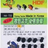천연고무 순정봉돌 HA-722