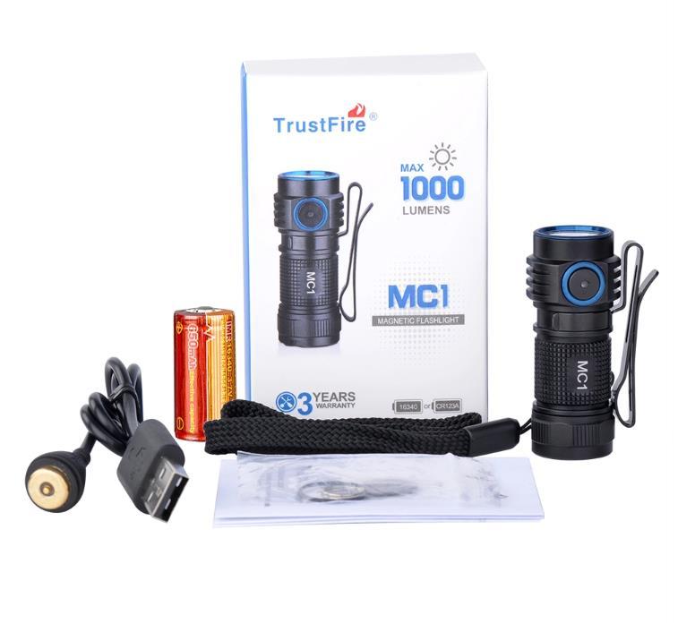 [Trustfire] MC1 1000 루멘 충전식